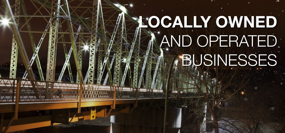 Locally Owned and Operated Businesses - bridge