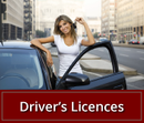 Driver's Licences | woman with car keys